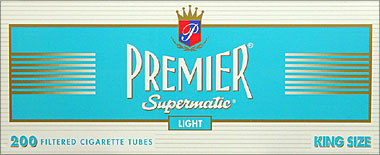 Premier Supermatic Light King Size Tubes 200ct