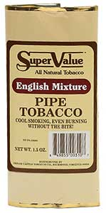 Super Value English Mixture Pipe Tobacco 6 Pack